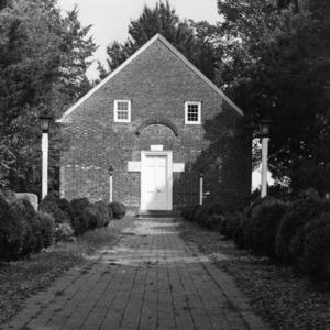 View, St. Thomas Episcopal Church, Bath, Beaufort County, North Carolina