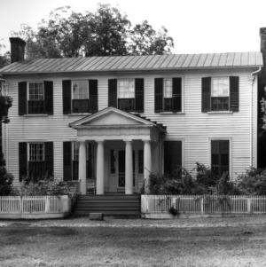 View, Bracebridge Hall, Edgecombe County, North Carolina