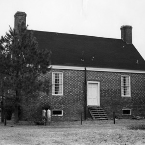 View, Charlton-Jordan House, Bertie County, North Carolina