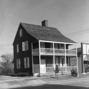 View, David Bell House, Beaufort, Carteret County, North Carolina