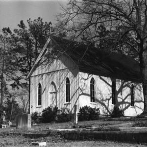 View, Barnabus Episcopal Church, Snow Hill, Greene County, North Carolina
