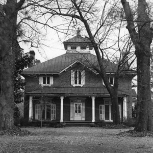 View, Coats-Watson House, Tarboro, Edgecombe County, North Carolina