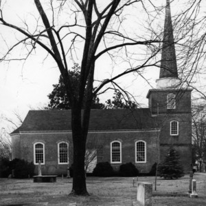 View, St. Paul's Episcopal Church, Edenton, Chowan County, North Carolina