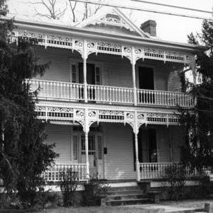 View, John R. Wheeler House, Edenton, Chowan County, North Carolina