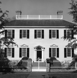 View, John Wright Stanly House, New Bern, Craven County, North Carolina