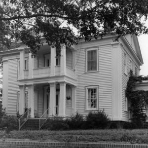 View, Dr. David Gillespie House, Kenansville, Duplin County, North Carolina