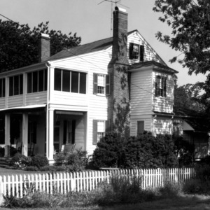 View, Creecy-Skinner-Whedbee House, Hertford, Perquimans County, N.C.