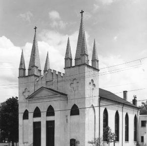 View, St. John's Episcopal Church , Fayetteville, Cumberland County, North Carolina