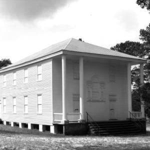 View, Longstreet Presbyterian Church, Fort Bragg, Hoke County, North Carolina