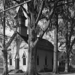 View, Grace Episcopal Church, Trenton, Jones County, North Carolina