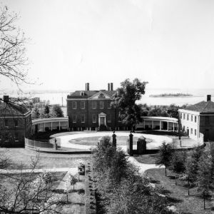 View, Tryon Palace, New Bern, Craven County, North Carolina