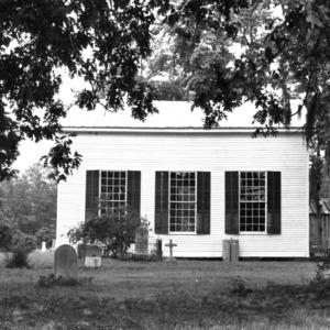 View, Rehoboth Methodist Church, Washington County, North Carolina