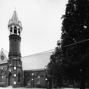 View, First Methodist Church, Washington, Beaufort County, North Carolina