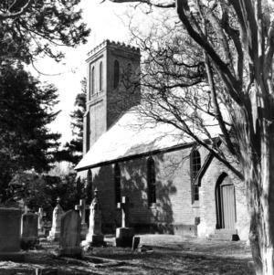 View, Trinity Episcopal Church, Halifax County, North Carolina
