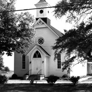View, Eureka Methodist Church, Wayne County, North Carolina