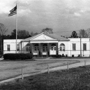 View, Brown Hall, Hertford County, North Carolina
