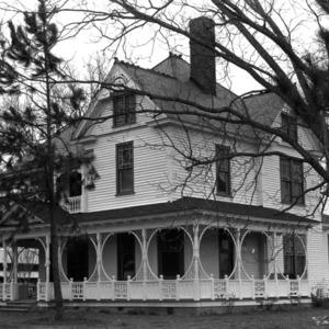 View, Bullock-Dew House, Wilson, Wilson County, North Carolina