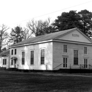 View, Mount Carmel Baptist Church, Northampton County, North Carolina