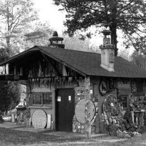 View, Occoneechee Trapper's Lodge, Northampton County, North Carolina