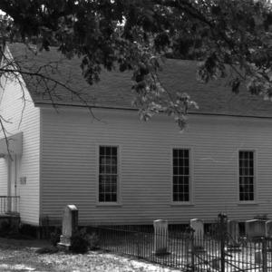 View, Hebron Presbyterian Church, Kenansville, Duplin County, North Carolina