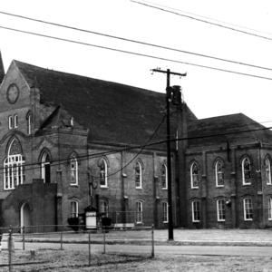 View, Mount Lebanon A. M. E. Zion Church, Elizabeth City, Pasquotank County, North Carolina