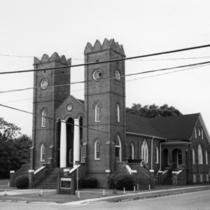 View, New Chapel Baptist Church, Plymouth, Washington County, North Carolina