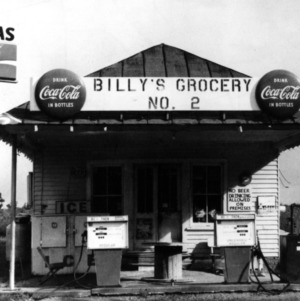 View, Billy's Grocery No. 2, Nash County, North Carolina