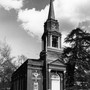 View, Howard Memorial Presbyterian Church, Tarboro, Edgecombe County, North Carolina
