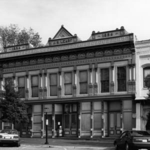 View, Josephine Napoleon Leary Building, Edenton, Chowan County, North Carolina