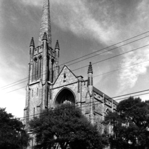 View, First Presbyterian Church, Wilmington, New Hanover County, North Carolina