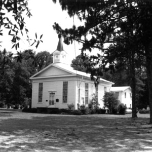 View, Oak Plain Presbyterian Church, Sampson County, North Carolina