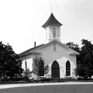View, Summerville (Tirzah) Presbyterian Church, Harnett County, North Carolina