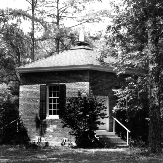 View, Richmond Temperance and Literary Society Hall, Scotland County, North Carolina