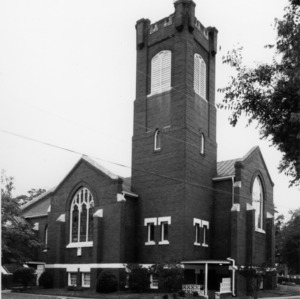 View, St. Cyprian's Episcopal Church, New Bern, Craven County, North Carolina