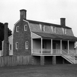 View, King-Bazemore House, Bertie County, North Carolina