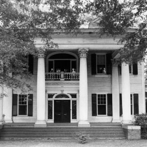 View, A. P. Pearsall House, Red Springs, Robeson County, North Carolina