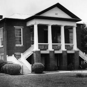 View, Camden County Courthouse, Camden, Camden County, North Carolina