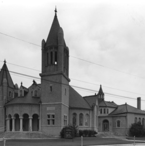 View, Centenary Methodist Church, New Bern, Craven County, North Carolina