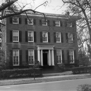 View, Charles Slover House and Dependency, New Bern, Craven County, North Carolina