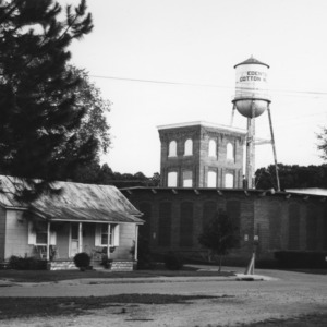 Edenton Cotton Mill and Village, Edenton, Chowan County, North Carolina