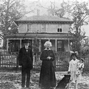 View, John A. Avirett House, Onslow County, North Carolina