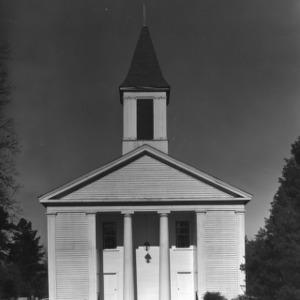 View, Philadelphus Presbyterian Church, Philadelphus, Robeson County, North Carolina