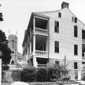 View, St. James Church and Burgwin-Wright House, Wilmington, New Hanover County, North Carolina