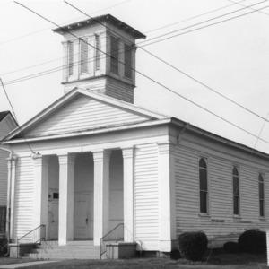 View, White Rock Presbyterian Church, Kinston, Lenoir County, North Carolina