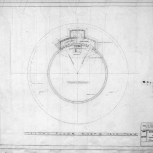 Second floor, Roof and Deck Plans