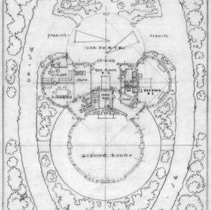 Floor Plan, Second Stage - Scheme No. 2