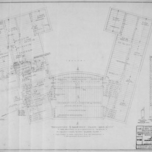 Foundation Plan and Basement Heating, Plumbing and Electrical Plan