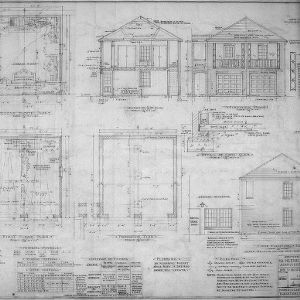 Plans, Elevations, Sections and Details
