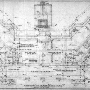 Foundation and Basement Plan