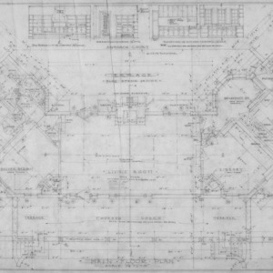 Main Floor Plan and Details